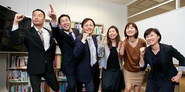 株式会社NTTデータの東矢努さんと谷奥武さんと高橋まゆみさんと木野由香さんと株式会社ソフィアの築地健と吉備奈緒子