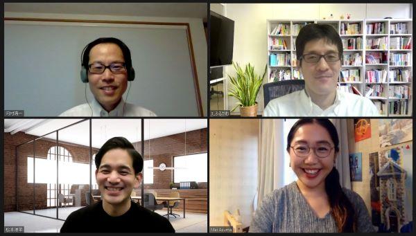 中外製薬 河村さん、ソフィアの古川、松本、IMPRO KIDS TOKYO我妻さん